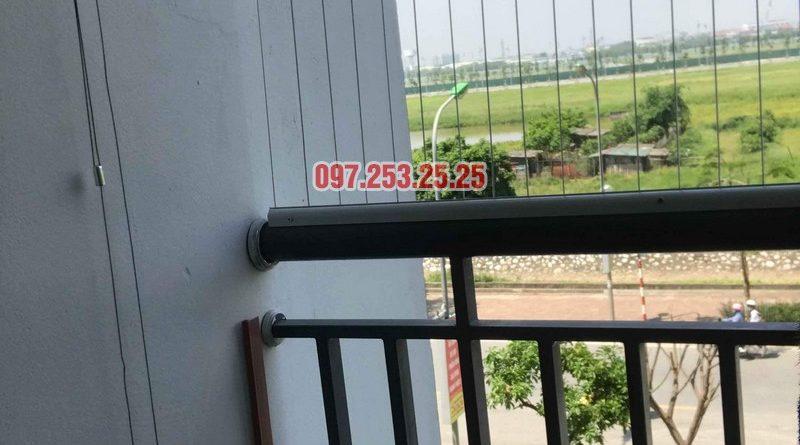 Lắp giàn phơi thông minh giá rẻ nhà cô Tâm, chung cư Ecohome Phúc Lợi, Long Biên, Hà Nội - 03
