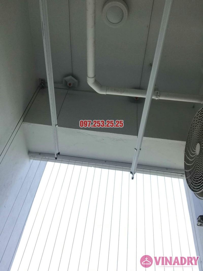 Lắp giàn phơi thông minh giá rẻ nhà cô Tâm, chung cư Ecohome Phúc Lợi, Long Biên, Hà Nội - 06