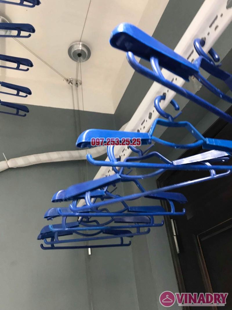 Lắp giàn phơi quần áo tại Thanh Xuân nhà chị Cẩm, căn 504 tòa Cowaelmic, 198 Nguyễn Tuân - 01