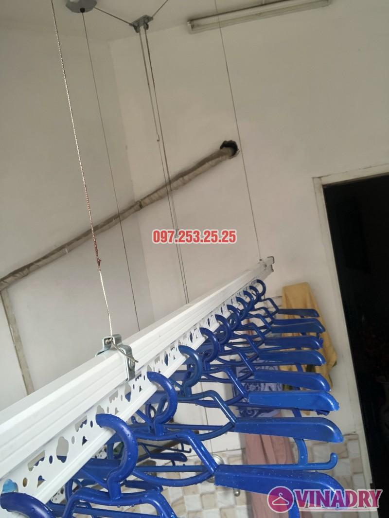 Lắp giàn phơi quần áo tại Thanh Xuân nhà chị Cẩm, căn 504 tòa Cowaelmic, 198 Nguyễn Tuân - 03