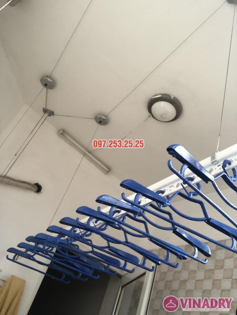 Lắp giàn phơi quần áo tại Thanh Xuân nhà chị Cẩm, căn 504 tòa Cowaelmic, 198 Nguyễn Tuân - 05