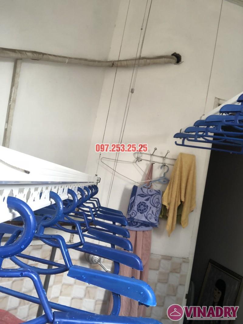 Lắp giàn phơi quần áo tại Thanh Xuân nhà chị Cẩm, căn 504 tòa Cowaelmic, 198 Nguyễn Tuân - 06