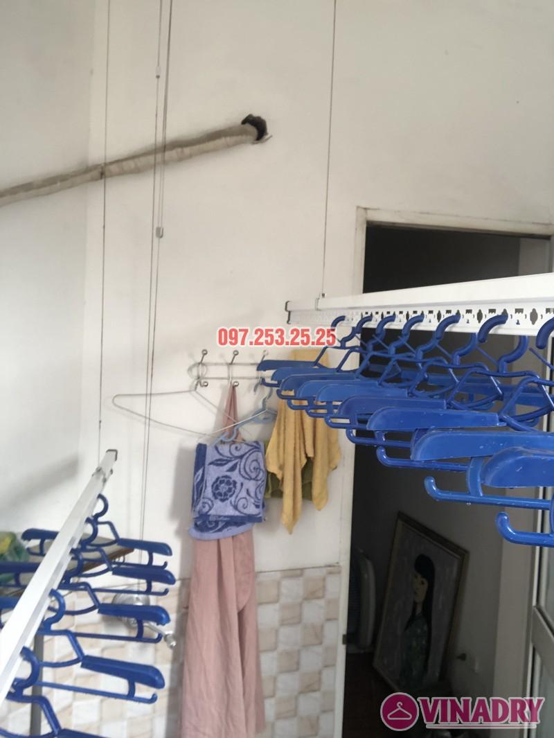 Lắp giàn phơi quần áo tại Thanh Xuân nhà chị Cẩm, căn 504 tòa Cowaelmic, 198 Nguyễn Tuân - 07