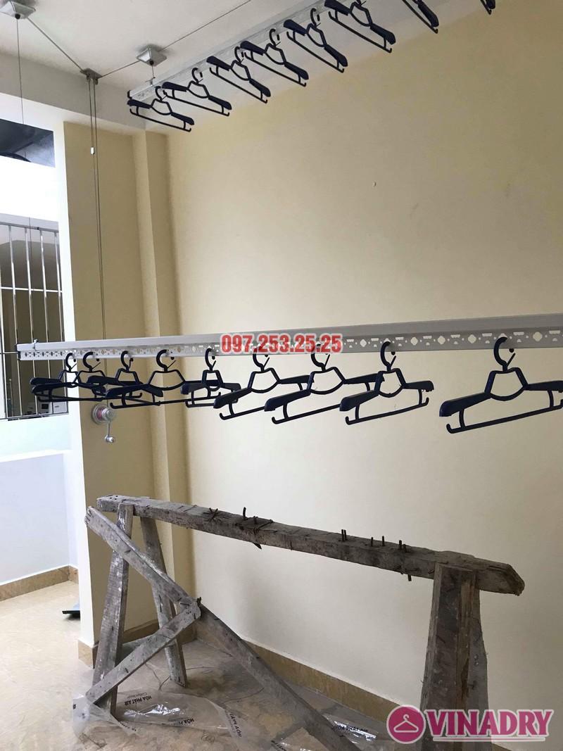 Lắp giàn phơi tại Hoàng Mai nhà chị Phượng, ngõ 420 Kim Giang - 01