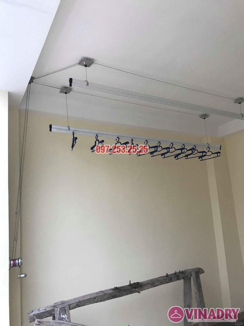 Lắp giàn phơi tại Hoàng Mai nhà chị Phượng, ngõ 420 Kim Giang - 02