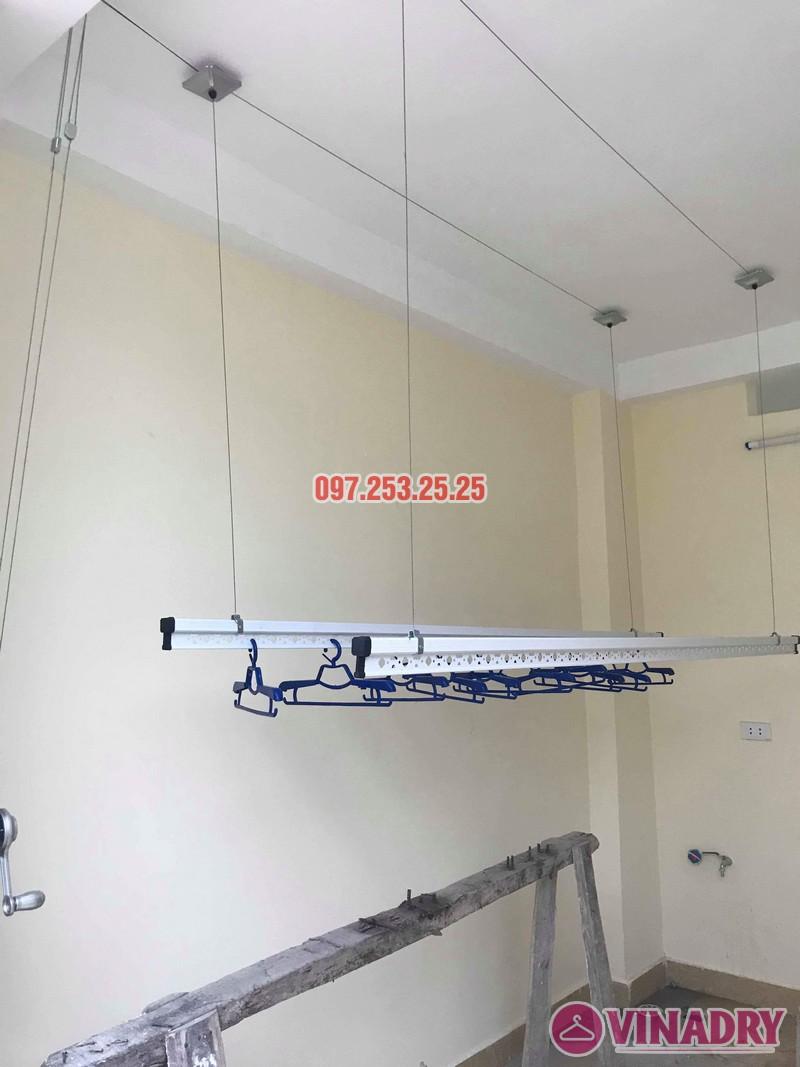 Lắp giàn phơi tại Hoàng Mai nhà chị Phượng, ngõ 420 Kim Giang - 05