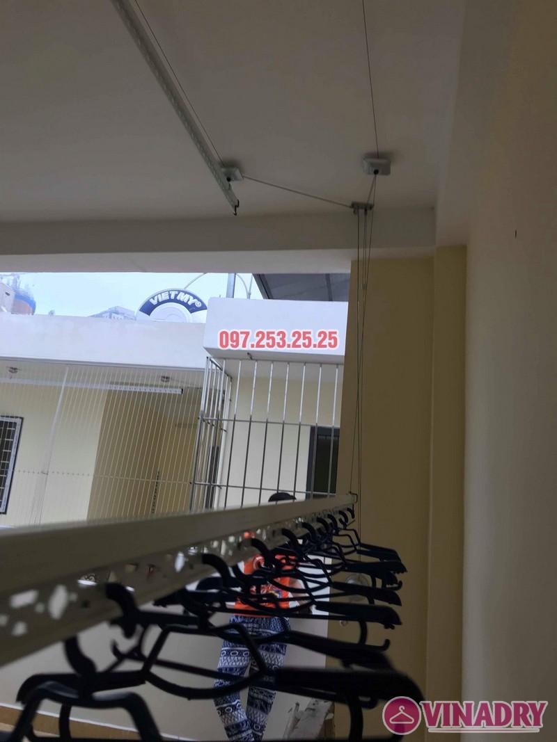 Lắp giàn phơi tại Hoàng Mai nhà chị Phượng, ngõ 420 Kim Giang - 06