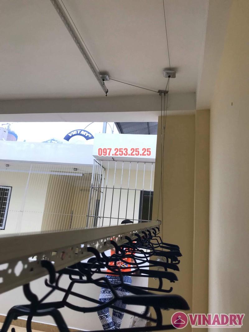 Lắp giàn phơi tại Hoàng Mai nhà chị Phượng, ngõ 420 Kim Giang - 07