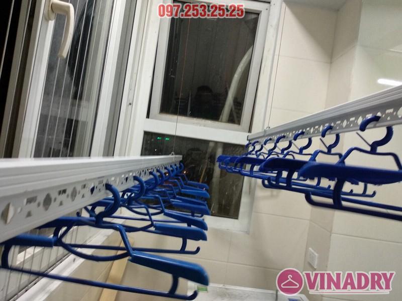 Lắp giàn phơi thông minh 999B nhà anh Trung, căn 1206, tòa B3D Nam Trung Yên, Cầu Giấy - 01