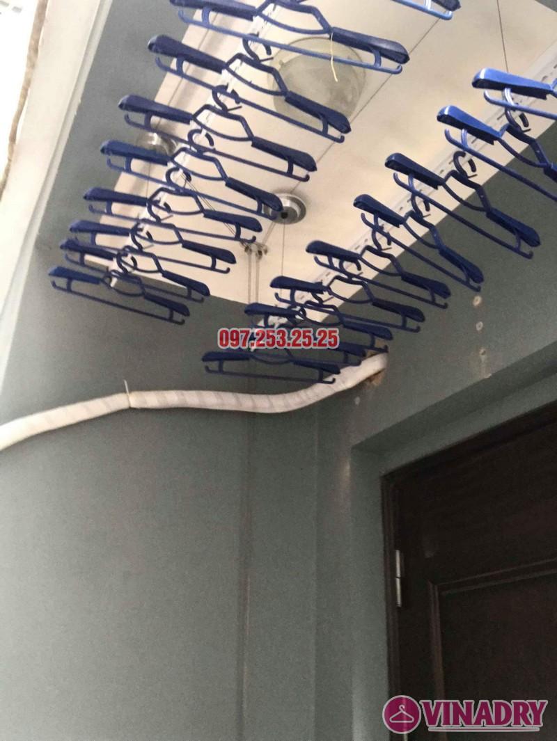 Lắp giàn phơi tại Cầu Giấy: lắp giàn phơi HP701 nhà anh Tài, số 9e, ngõ 161 Hoa Bằng - 02