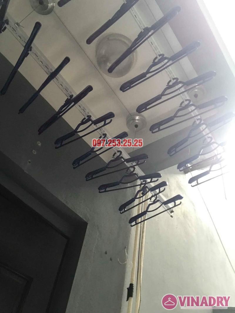 Lắp giàn phơi tại Cầu Giấy: lắp giàn phơi HP701 nhà anh Tài, số 9e, ngõ 161 Hoa Bằng - 03