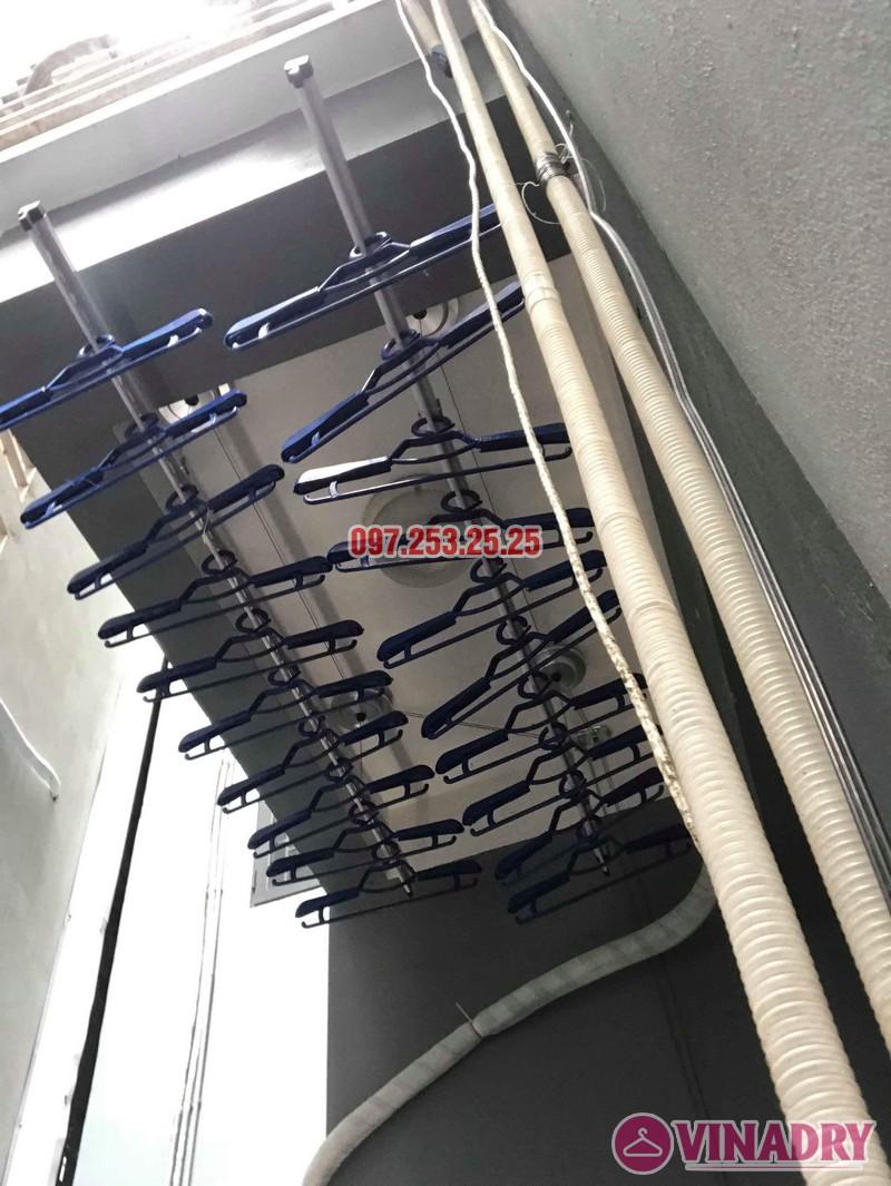 Lắp giàn phơi tại Cầu Giấy: lắp giàn phơi HP701 nhà anh Tài, số 9e, ngõ 161 Hoa Bằng - 04