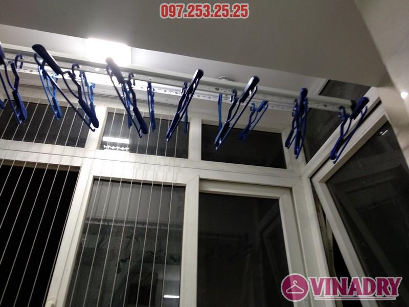 Lắp giàn phơi thông minh 999B nhà anh Trung, căn 1206, tòa B3D Nam Trung Yên, Cầu Giấy - 05