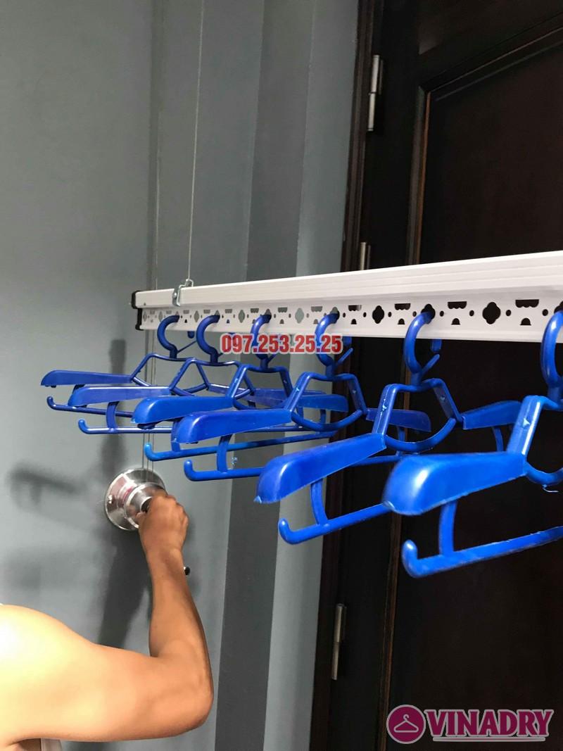Lắp giàn phơi tại Cầu Giấy: lắp giàn phơi HP701 nhà anh Tài, số 9e, ngõ 161 Hoa Bằng - 05