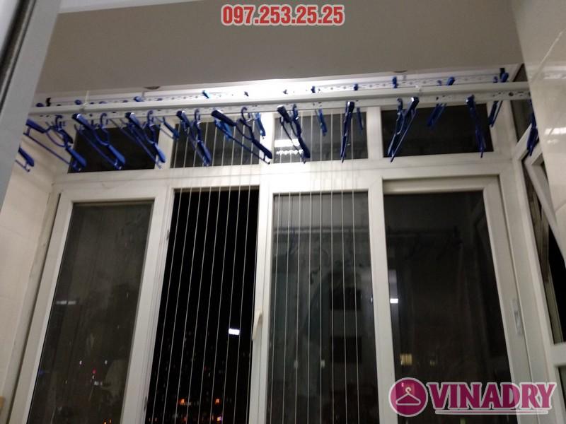Lắp giàn phơi thông minh 999B nhà anh Trung, căn 1206, tòa B3D Nam Trung Yên, Cầu Giấy - 06