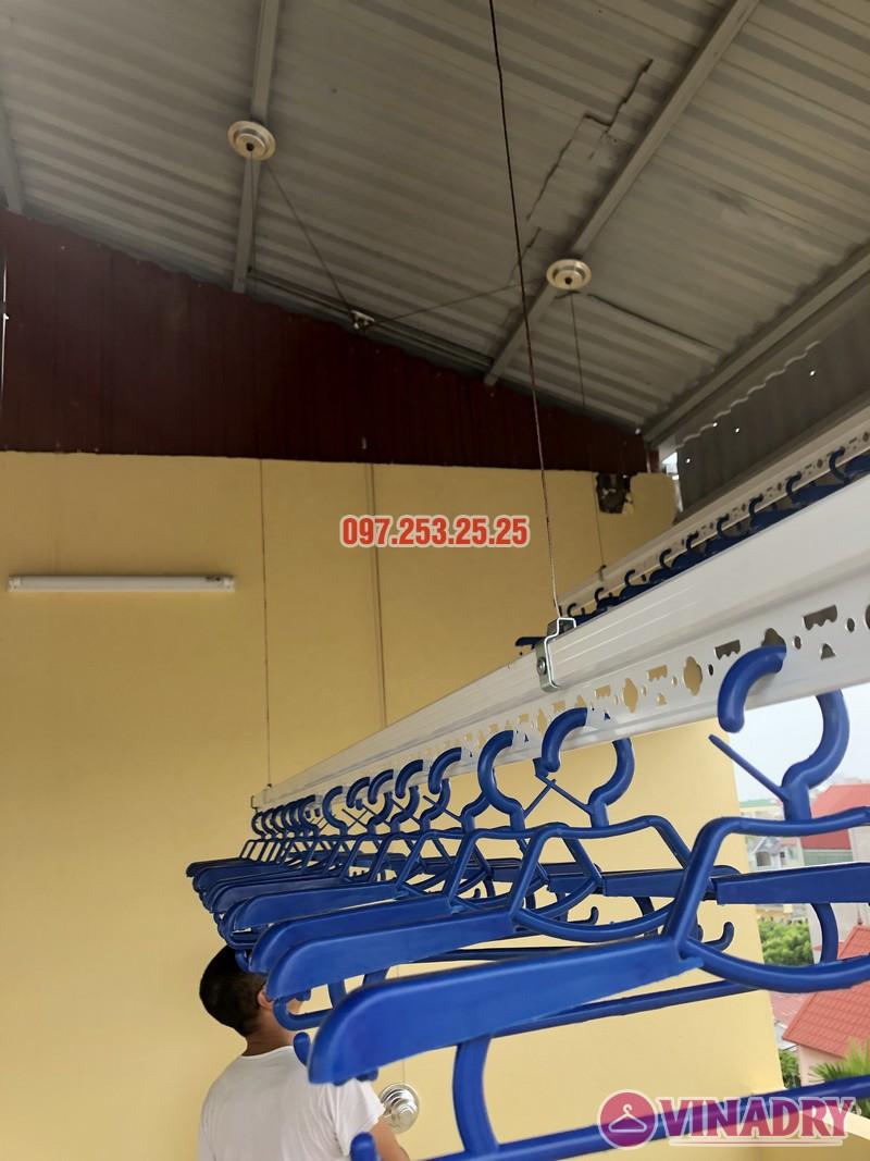 Lắp giàn phơi thông minh tại Từ Liêm, nhà chị Hạnh, số 15, ngõ 119/64 Cổ Nhuế - 05