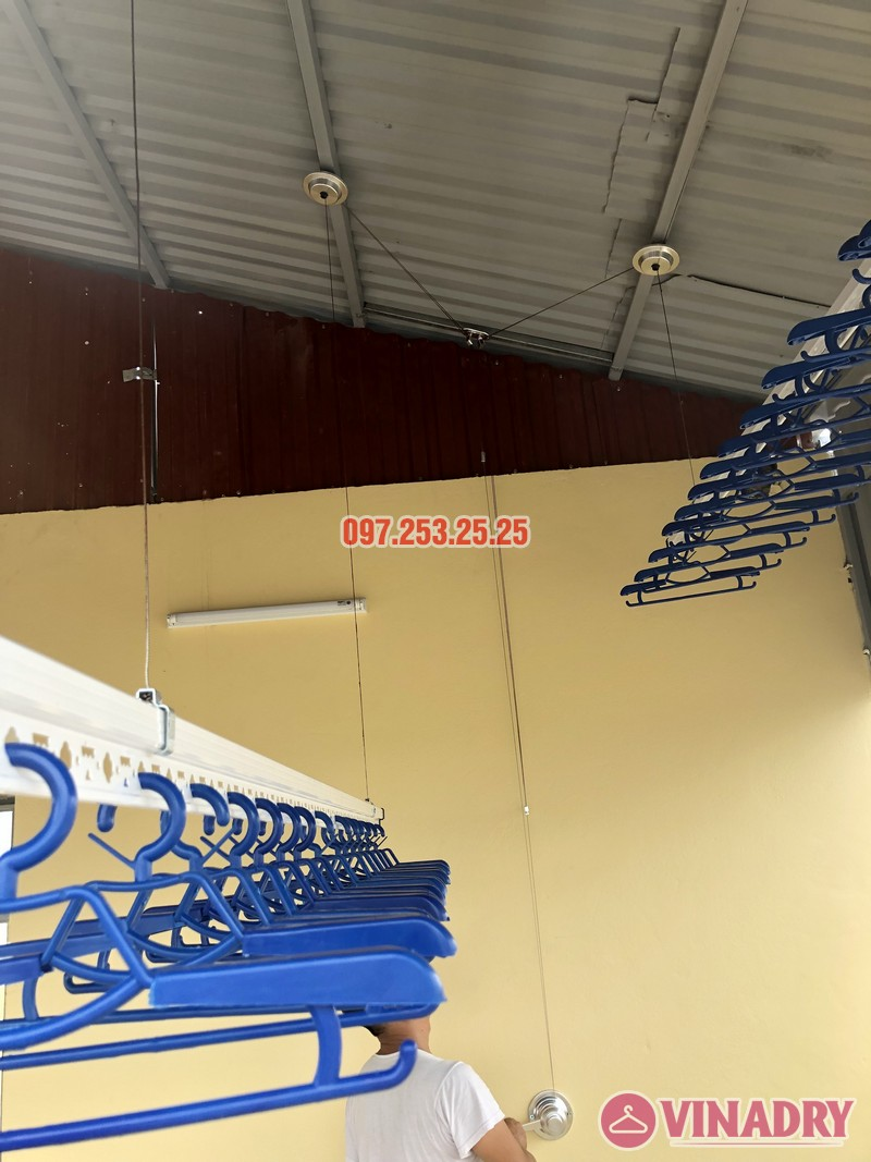 Lắp giàn phơi thông minh tại Từ Liêm, nhà chị Hạnh, số 15, ngõ 119/64 Cổ Nhuế - 06