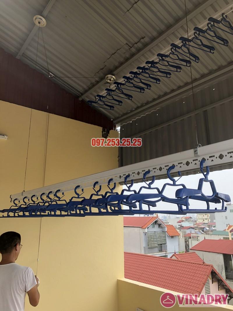 Lắp giàn phơi thông minh tại Từ Liêm, nhà chị Hạnh, số 15, ngõ 119/64 Cổ Nhuế - 07