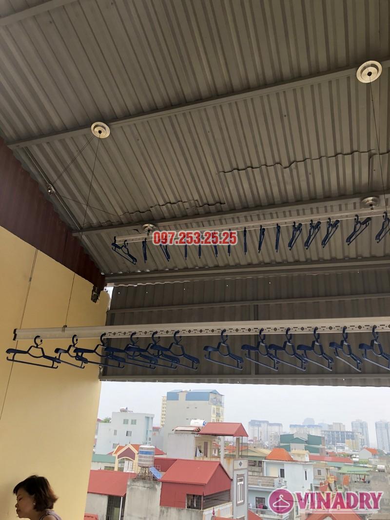Lắp giàn phơi thông minh tại Từ Liêm, nhà chị Hạnh, số 15, ngõ 119/64 Cổ Nhuế - 08