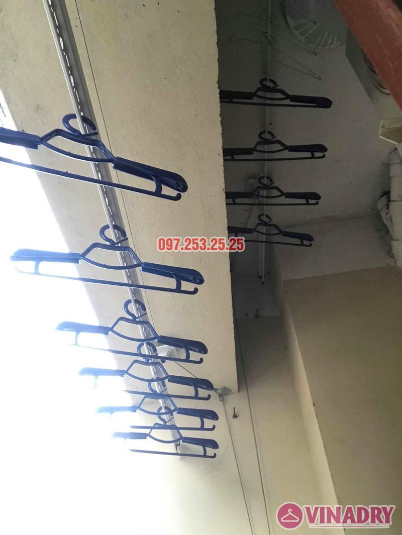 Lắp đặt giàn phơi thông minh nhà chị Mười, chung cư CT10, KĐT Đại Thanh, Thanh Trì, Hà Nội - 02