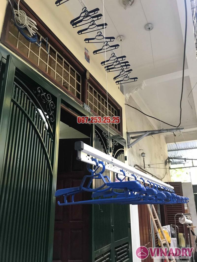 Lắp giàn phơi Hòa Phát Star 701 nhà chị Nhung, ngõ 805 Giải Phóng, Hoàng Mai, Hà Nội - 04
