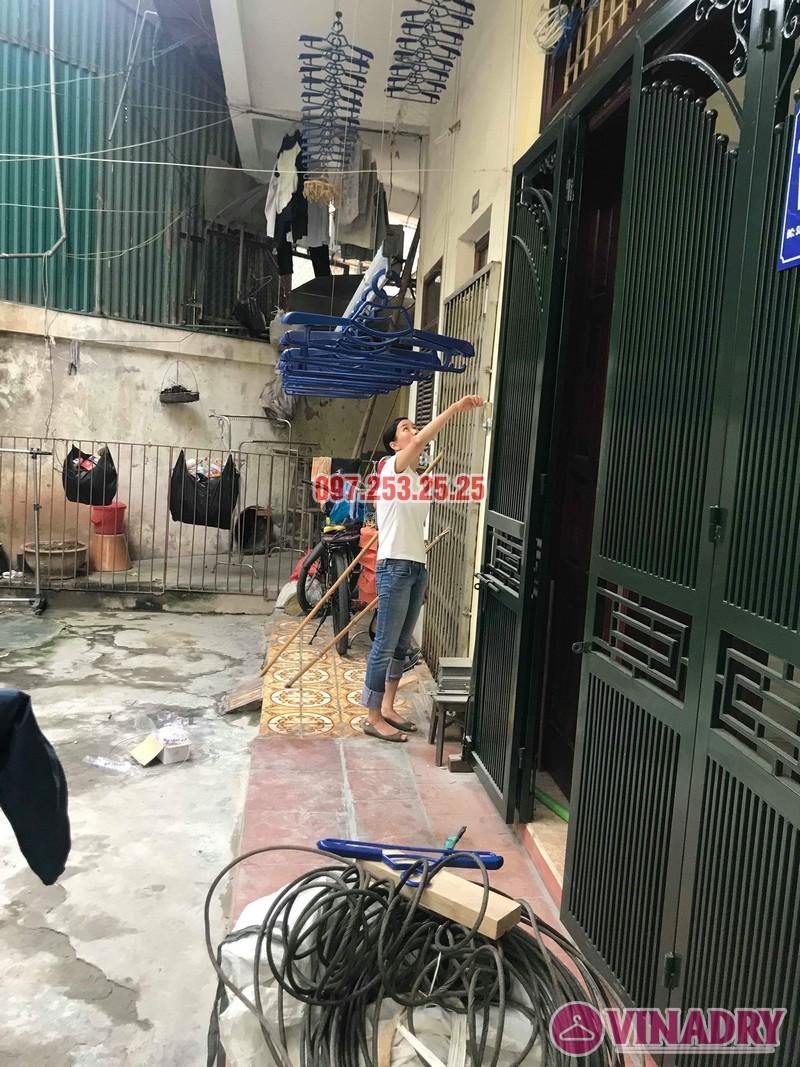Lắp giàn phơi Hòa Phát Star 701 nhà chị Nhung, ngõ 805 Giải Phóng, Hoàng Mai, Hà Nội - 05