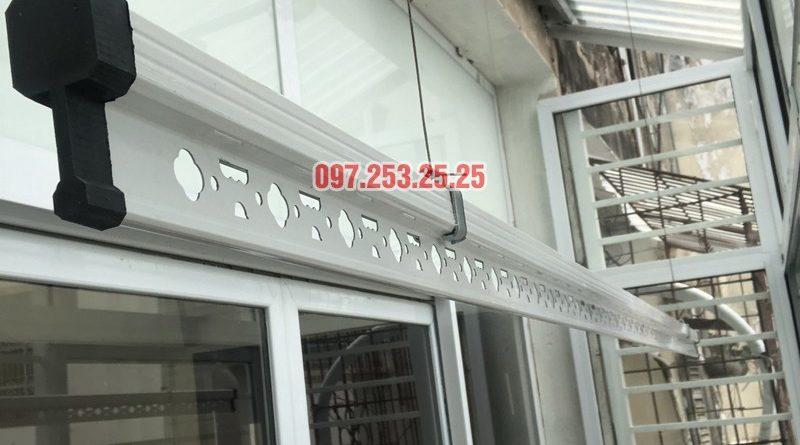 Lắp giàn phơi Hoàn Kiếm: bộ Hòa Phát 701 nhà chị Tình, số 32A Hàng Vôi - 07