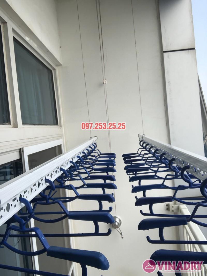 Lắp giàn phơi quần áo thông minh nhà chị Phương, căn 4004, tòa Keangnam Landmark Tower - 01