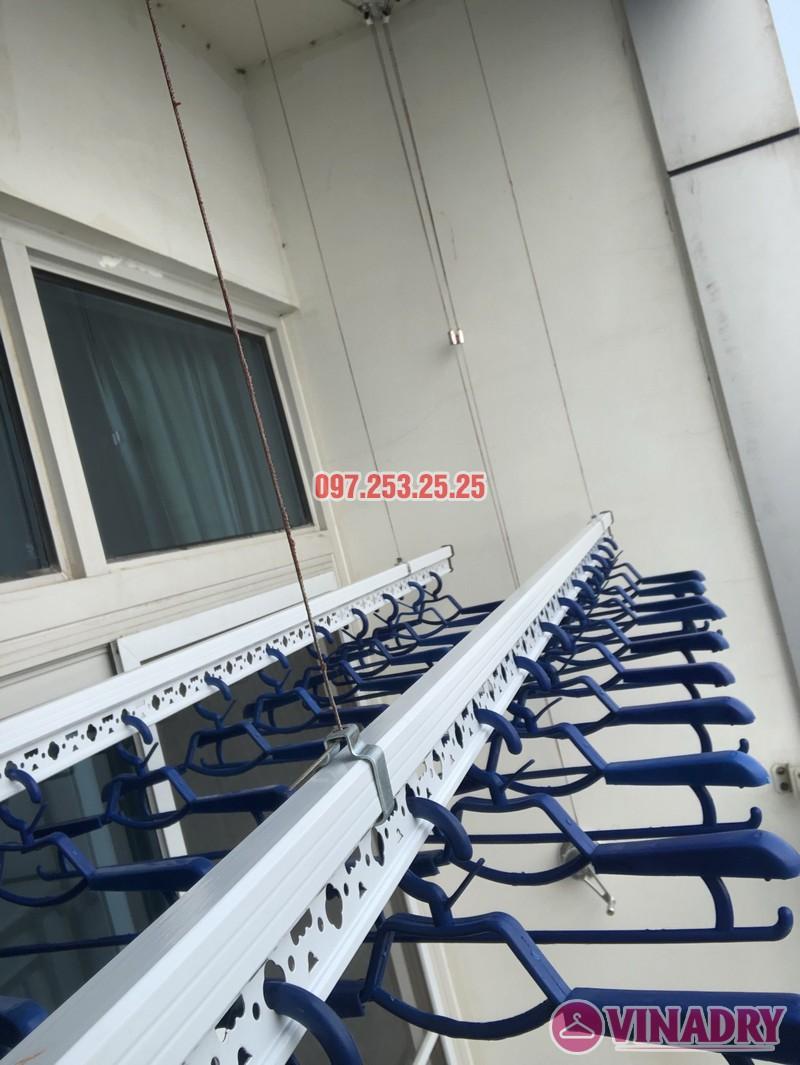 Lắp giàn phơi quần áo thông minh nhà chị Phương, căn 4004, tòa Keangnam Landmark Tower - 02