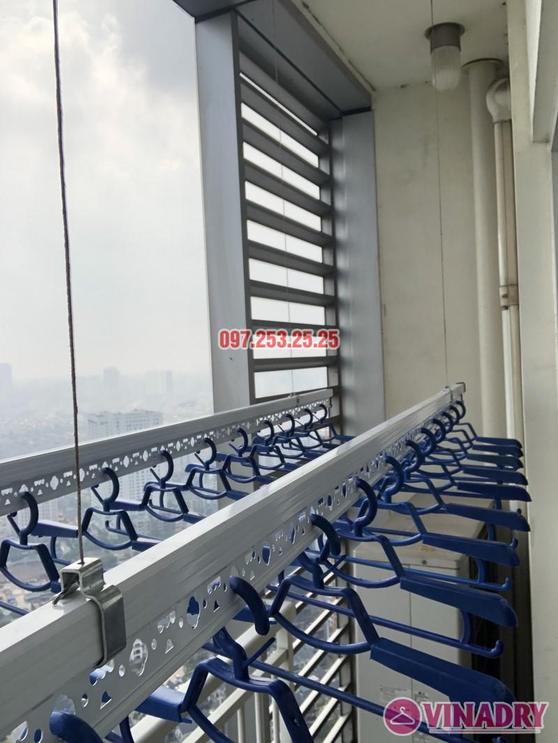 Lắp giàn phơi quần áo thông minh nhà chị Phương, căn 4004, tòa Keangnam Landmark Tower - 04