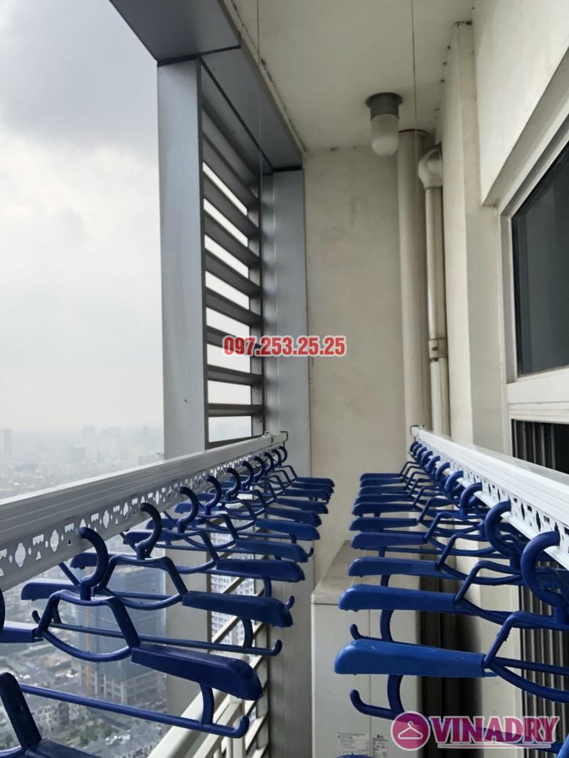 Lắp giàn phơi quần áo thông minh nhà chị Phương, căn 4004, tòa Keangnam Landmark Tower - 05