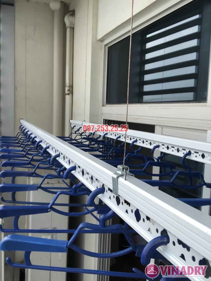 Lắp giàn phơi quần áo thông minh nhà chị Phương, căn 4004, tòa Keangnam Landmark Tower - 06