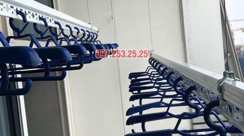 Lắp giàn phơi quần áo thông minh nhà chị Phương, căn 4004, tòa Keangnam Landmark Tower - 08