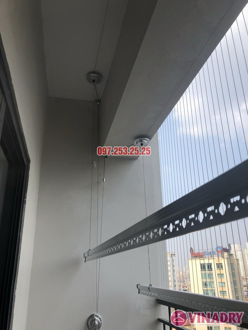 Lắp giàn phơi Hòa Phát Star nhà chị Minh, căn 1206 chung cư Star City, Thanh Xuân, Hà Nội - 05