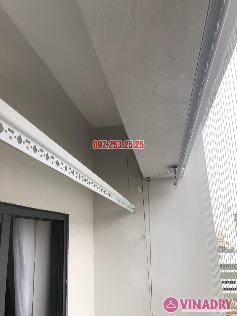 Lắp giàn phơi Hòa Phát Star nhà chị Minh, căn 1206 chung cư Star City, Thanh Xuân, Hà Nội - 06