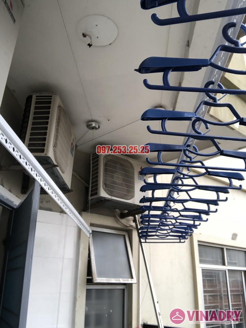Lắp giàn phơi Hòa Phát nhà anh Trị, căn 514 tòa CT5, KĐT Mỹ Đình II, Nam Từ Liêm, Hà Nội - 05