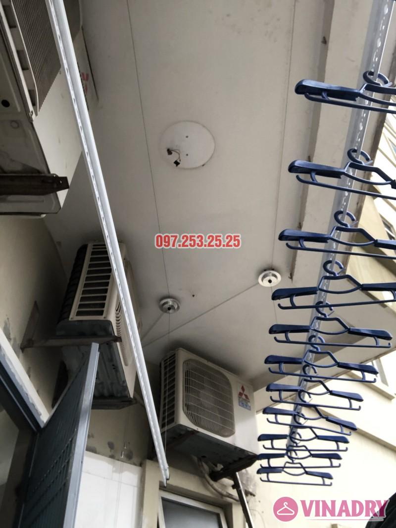 Lắp giàn phơi Hòa Phát nhà anh Trị, căn 514 tòa CT5, KĐT Mỹ Đình II, Nam Từ Liêm, Hà Nội - 07