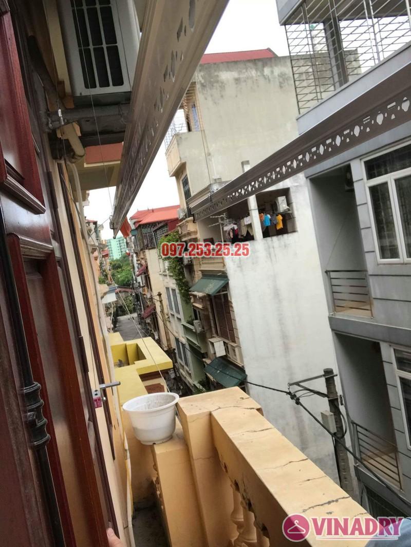 Lắp giàn phơi quần áo giá rẻ tại Thanh Trì, Hà Nội - 03