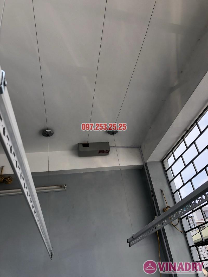 Lắp giàn phơi bấm điện nhà chị Ca, số 19, ngõ 153/3 Thanh Nhàn, Hai Bà Trưng, Hà Nội - 03