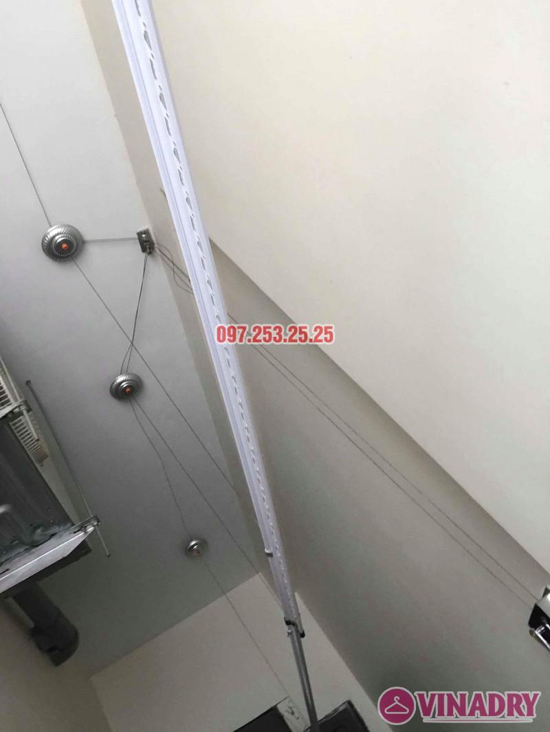 Lắp giàn phơi quần áo nhà chị Mai, biệt thự liền kề Kim Văn Kim Lũ, Hoàng Mai, Hà Nội - 03