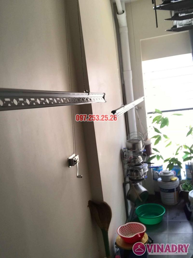 Lắp giàn phơi quần áo nhà chị Mai, biệt thự liền kề Kim Văn Kim Lũ, Hoàng Mai, Hà Nội - 04