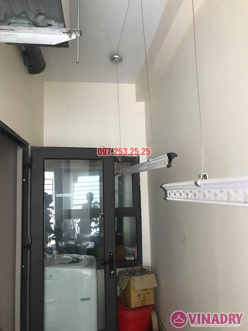 Lắp giàn phơi quần áo nhà chị Mai, biệt thự liền kề Kim Văn Kim Lũ, Hoàng Mai, Hà Nội - 05