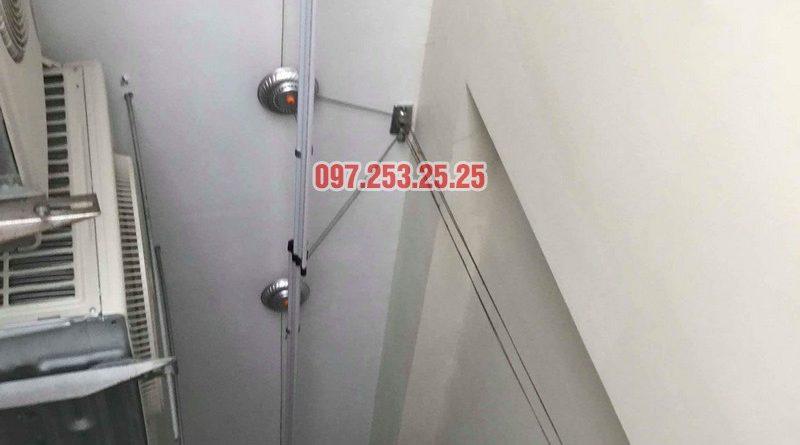 Lắp giàn phơi quần áo nhà chị Mai, biệt thự liền kề Kim Văn Kim Lũ, Hoàng Mai, Hà Nội - 07