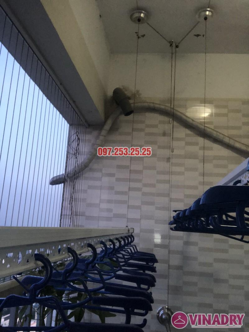 Lắp giàn phơi Hòa Phát giá rẻ cho nhà chị Thiêm, căn 4138, CT12C Kim Văn Kim Lũ - 06