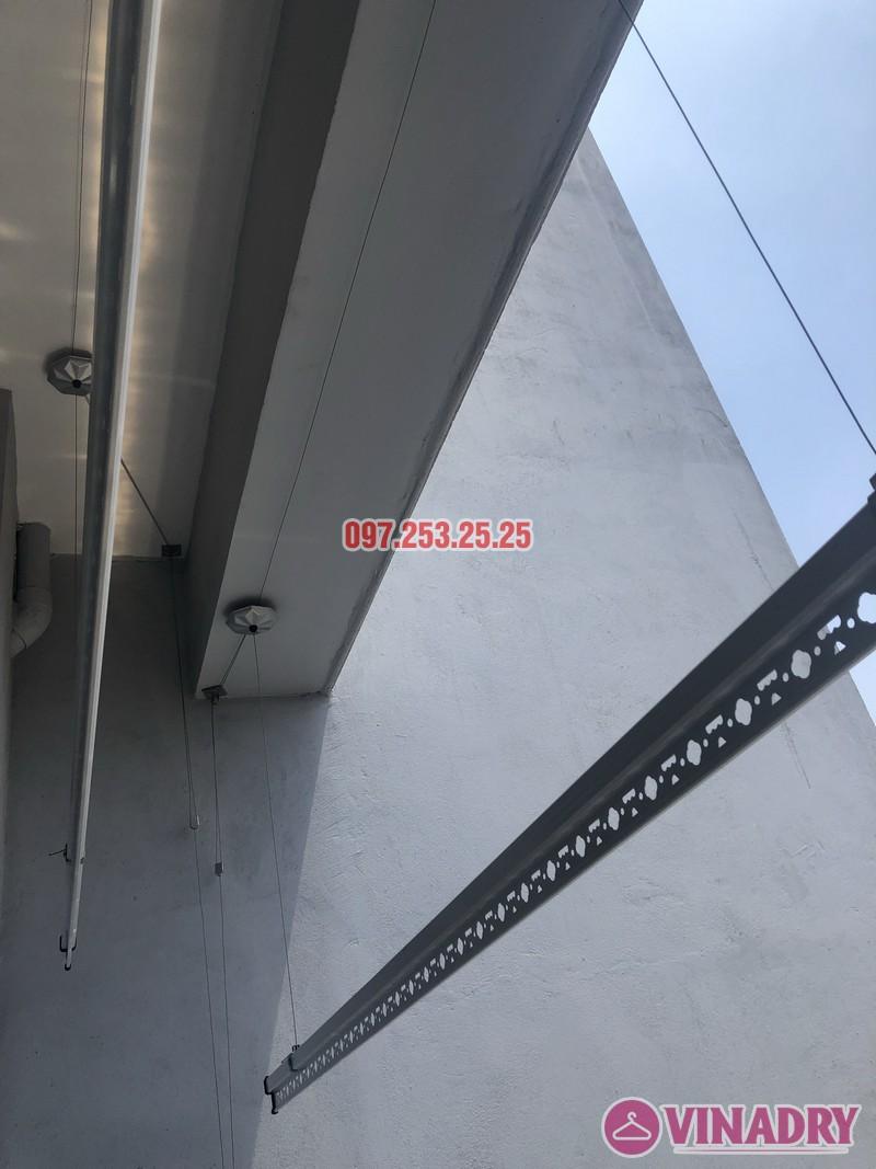 Lắp giàn phơi Hòa Phát KS950 nhà chị Mai, Căn 1408 CT1 chung cư Vinahud Cửu Long, 536 Minh Khai - 06