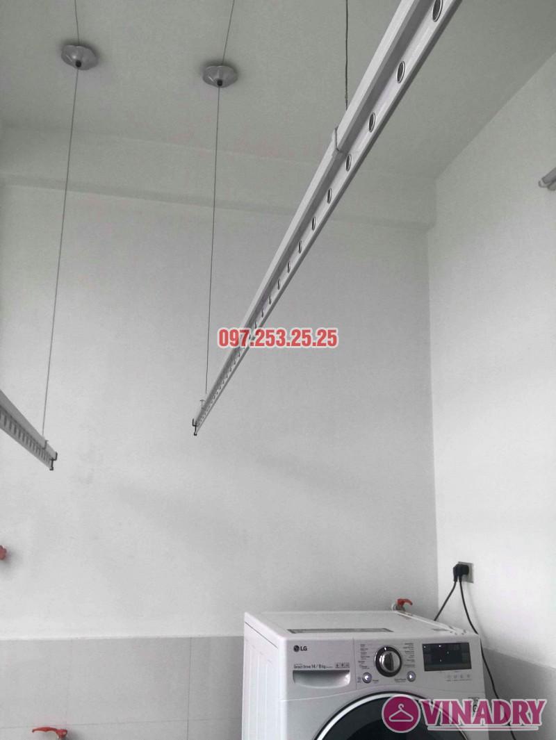 Sửa giàn phơi Hòa Phát 999b nhà chị Kiên, Số 10, ngõ 155 Hoàng Như Tiếp, Long Biên, Hà Nội - 03