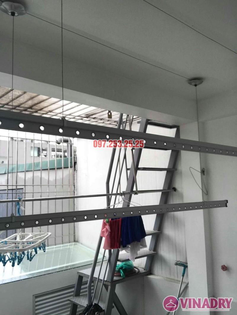 Sửa giàn phơi Hòa Phát 999b nhà chị Kiên, Số 10, ngõ 155 Hoàng Như Tiếp, Long Biên, Hà Nội - 04