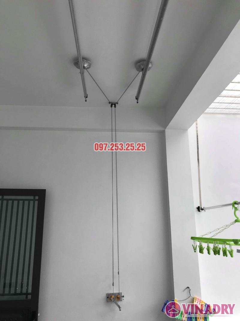 Sửa giàn phơi Hòa Phát 999b nhà chị Kiên, Số 10, ngõ 155 Hoàng Như Tiếp, Long Biên, Hà Nội - 07