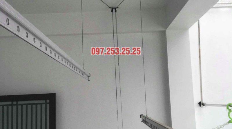 Sửa giàn phơi Hòa Phát 999b nhà chị Kiên, Số 10, ngõ 155 Hoàng Như Tiếp, Long Biên, Hà Nội - 08