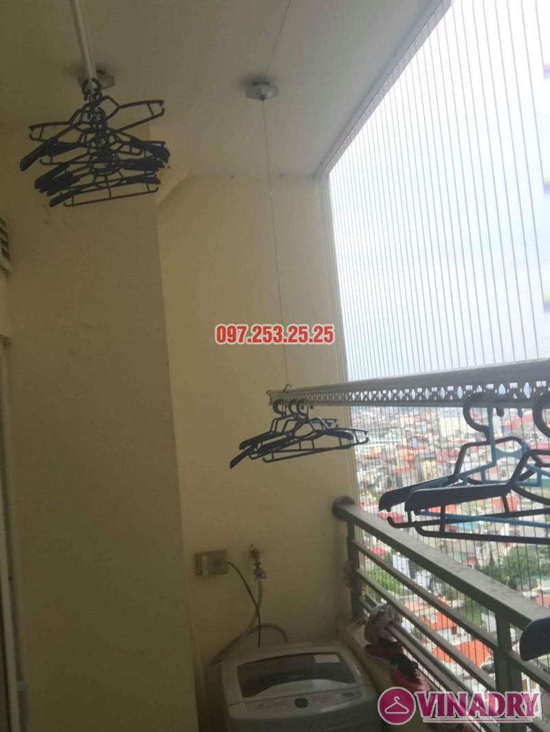Sửa giàn phơi thông minh nhà chị Thanh, chung cư Nam Đô Complex, Hoàng Mai, Hà Nội - 03